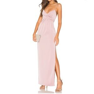 NWT NBD Saanvi Gown in Lilac